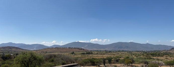 Zona Arqueológica Dainzú is one of Oaxaca.