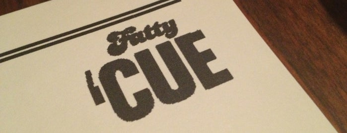 Fatty Cue is one of NYC.
