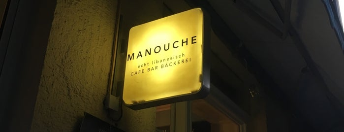 Manouche is one of MUC × Eat × Drink.