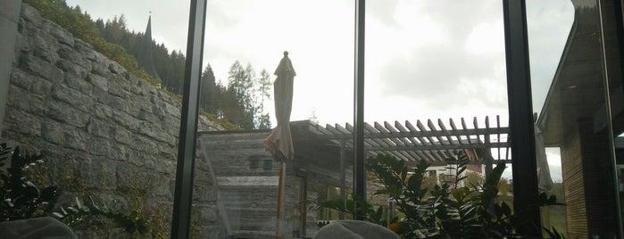 Sauna Und Wellnessbereich Travel Charme Bergresort is one of Anton : понравившиеся места.