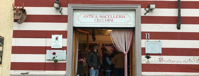 Antica Macelleria Cecchini is one of Florence.