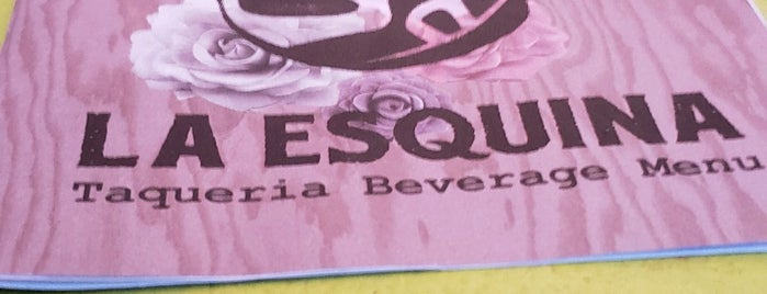 La Esquina is one of TO DO.