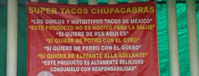 Tacos Chupacabras is one of Las Mejores Taquerías.