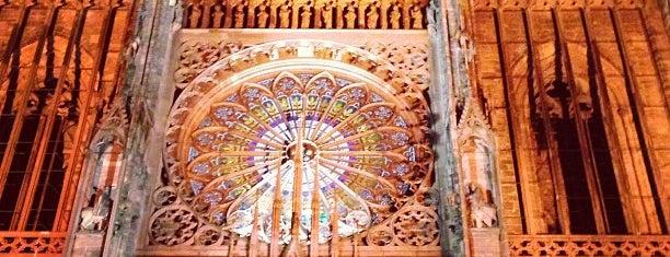 Catedral de Notre-Dame de Estrasburgo is one of Strasbourg - Capitale de Noël - #4sqcities.