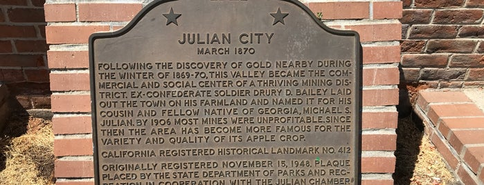 Julian, CA is one of A.Los angeles,CA🌴🇺🇸❤️.