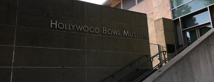 Hollywood Bowl Museum is one of Lala land unique spots.