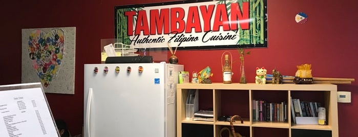 Tambayan Restaurant is one of PDX to-do.