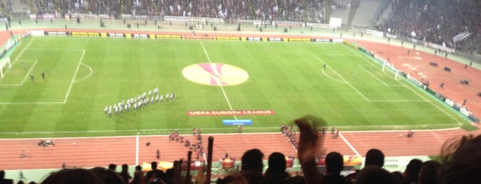 Atatürk Olimpiyat Stadyumu is one of Istanbul - En Fazla Check-in Yapılan Yerler-.