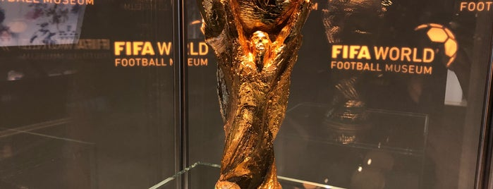 FIFA World Football Museum is one of Swiss Museum Pass.