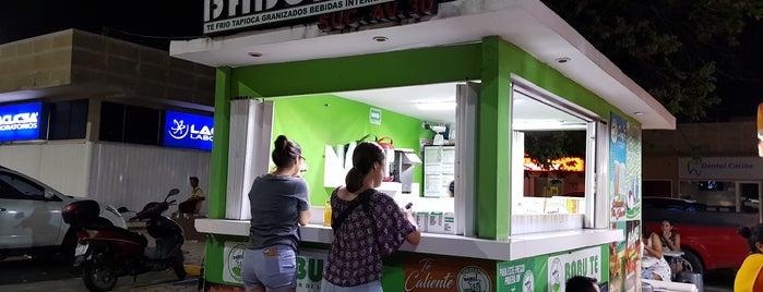 Babu Te Bar is one of Tempat yang Disukai Mariel.