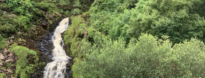 Assarancagh / Maghera Waterfall is one of (Northern) Ireland.