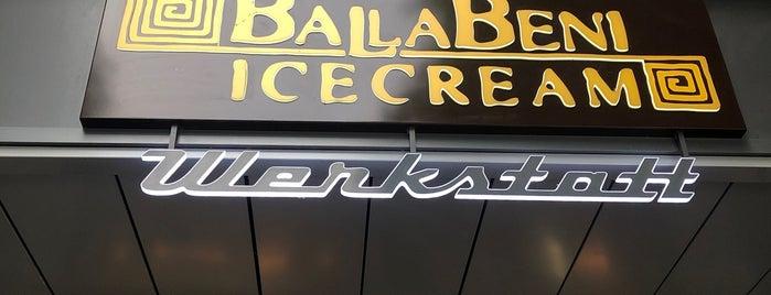 Ballabeni Icecream Werkstatt is one of Lugares guardados de Ivan.