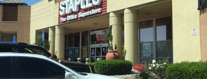 Staples is one of Mo's Liked Places.