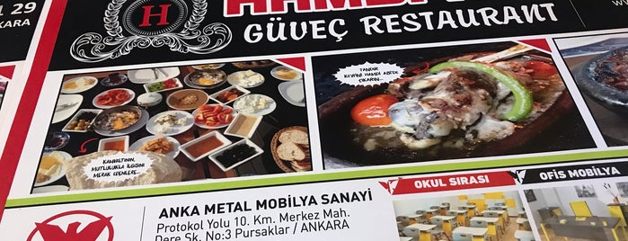 Hamdi Abi Güveç Restaurant is one of Tempat yang Disukai EGE.