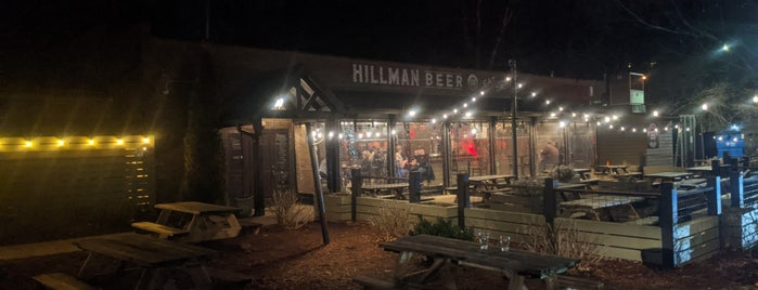 Hillman Beer is one of Asheville Breweries.