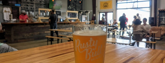 Rusty Bull Brewing Co. is one of Breweries or Bust 4.