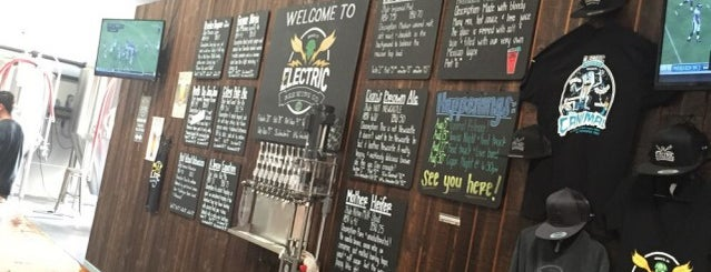 Electric Brewing Co. is one of San Diego Breweries.