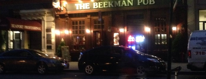 The Beekman Pub is one of The New Yorkers: Tribeca-Battery Park City.