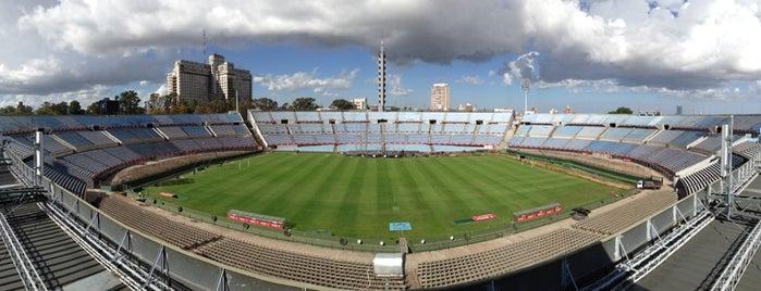 Estadio Centenario is one of Aqui na terra tão jogando futebol.