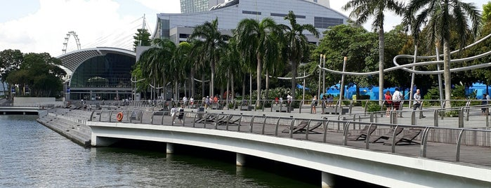 Marina Bay City Gallery is one of le 4sq with Donald :).