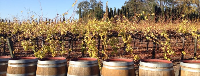 Cakebread Cellars is one of california wine country.
