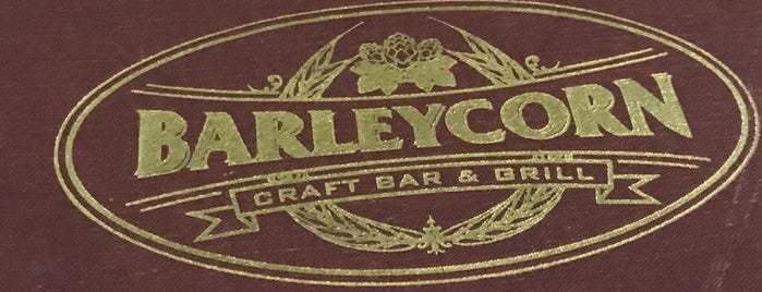 Barleycorn is one of NYC: Highly Refined.
