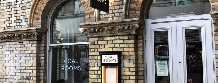 Coal Rooms is one of LDN 🇬🇧❤️.