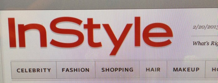 InStyle.com is one of Regular Spots.