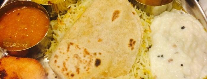 Annalakshmi is one of Vegan and Vegetarian.