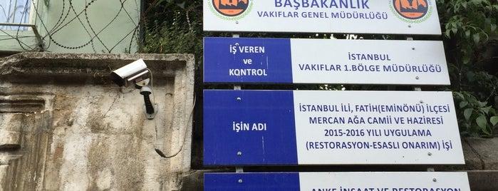 Mercan Ağa Camii is one of 1-Fatih to Do List | Spiritüel Merkezler.