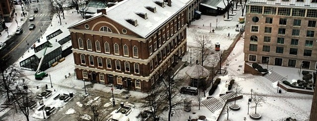 Faneuil Hall Marketplace is one of Boston: Fun + Recreation.