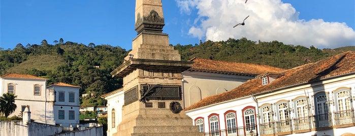 Estátua de Tiradentes is one of Tempat yang Disukai Vanessa.