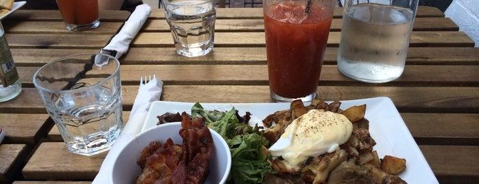 The Bodega is one of Bushwick food.