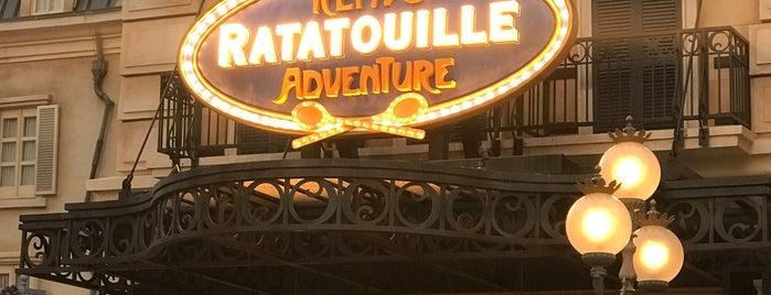 Remy's Ratatouille Adventure is one of Posti che sono piaciuti a P..