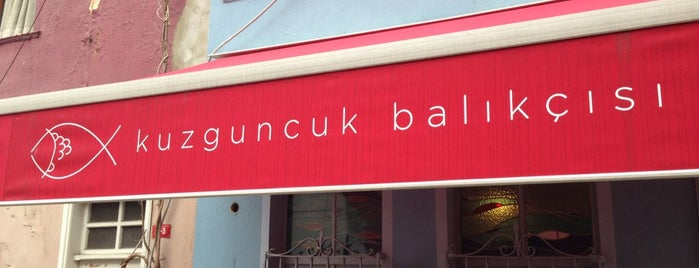 Kuzguncuk Balıkçısı is one of Ceren 님이 저장한 장소.