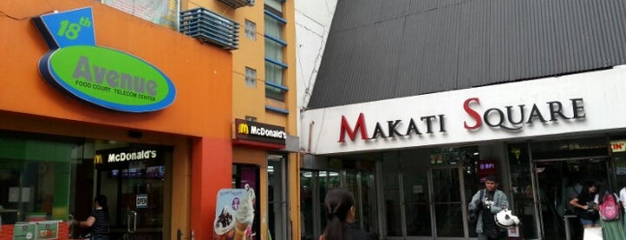 Makati Cinema Square is one of Orte, die Shank gefallen.