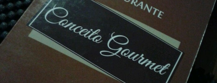Conceito Gourmet Restaurante is one of Orte, die Paulo gefallen.