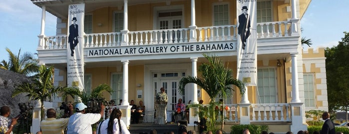 The National Art Gallery of The Bahamas is one of Bahamas.