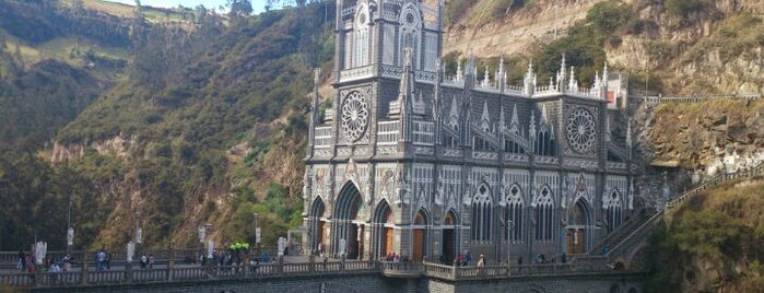 Santuario de las lajas is one of Far Far Away.