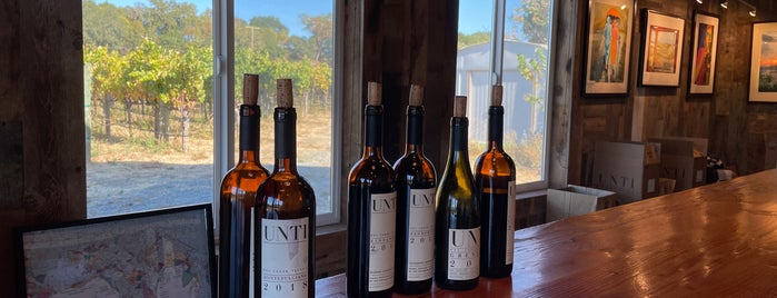 Unti Vineyards is one of SF Chronicle.