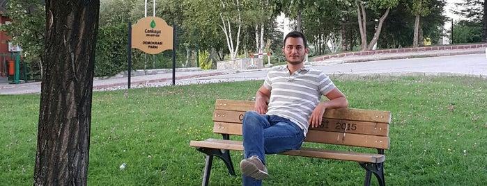 Demokrasi Parkı is one of Park.
