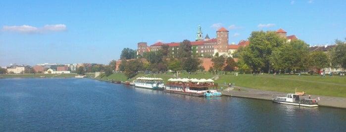 Bulwar Czerwieński is one of Krakiw.