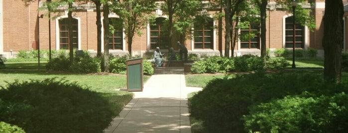 DePaul University - St. Vincent Circle is one of Lincoln Park Campus History.