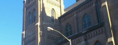 St. Stanislaus Kostka R.C. Church is one of USA NYC BK Greenpoint.