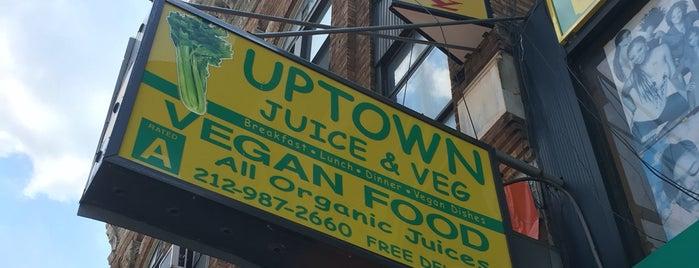 Uptown Veg is one of My Favorite Things.