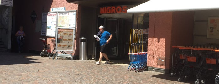 Migros Dübendorf is one of Tiborさんのお気に入りスポット.
