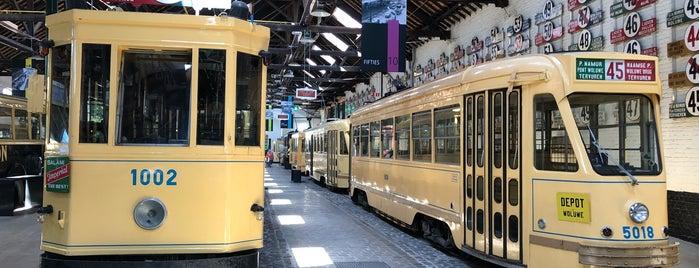 Trammuseum / Musée du Tram (MIVB / STIB) is one of Belgium / Brussels / Tram / Line 8.