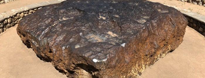 Hoba Meteorite is one of Besuchen non-D.