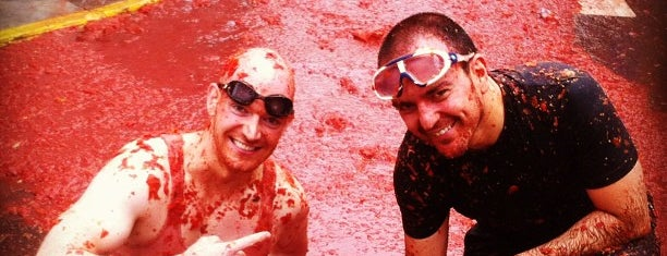 La Tomatina is one of Far Far Away.
