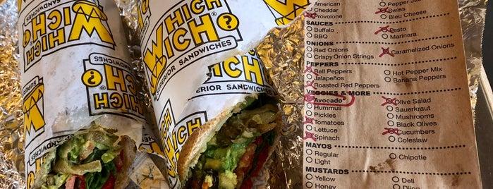 Which Wich? Superior Sandwiches is one of Posti salvati di Ian.